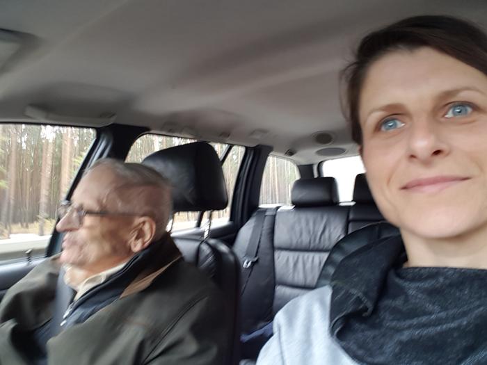 z dziadkiem w podróży